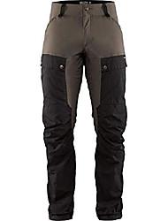 cheap -fjallraven - men's keb trousers long, black/stone grey, 44