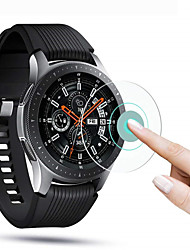 cheap -3 pcs For Samsung Galaxy Watch 46mm / 42mm / Gear S3 / Gear sport Screen Protector Film 9H Tempered Glass