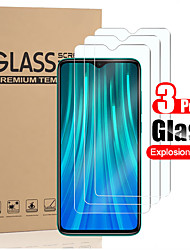 cheap -3PCS Screen Protector for Xiaomi Redmi Note 8/8 Pro/8T/Note 9/Note 9s/Note 9 Pro/Note 9 Pro Max and Redmi Note 7 Screen Protector HD Clear Scratch Resistance Bubble Free 9H Hardness Tempered Glass