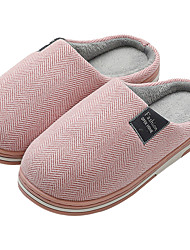 cheap -Women's Slippers / Men's Slippers House Slippers Casual Fabric Shoes