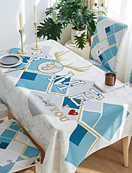 cheap -Thick Waterproof Tablecloth Square Tablecloth Decorative Kitchen Rectangular Tablecloth HOME 1 pc