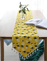 cheap -Cotton Linen Simple Modern Small Fresh Japanese Bed Flag Table Flag