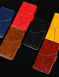 cheap -Phone Case For OPPO Full Body Case Leather Flip oppo R17 Realme x50 5G realme 5s realme 5 Pro Oppo Realme X50 Pro Oppo Realme 5 / Realme C3 Oppo R17 Pro Card Holder Flip Magnetic Solid Colored PU