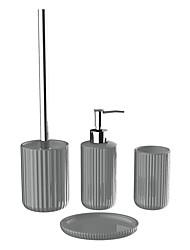 cheap -4 PCS Bathroom Set Hotel Supplies Suit Bathroom Ceramic Sanitary ware  Suite That Wash Gargle Holiday Bathroom Decoration Gift Idea