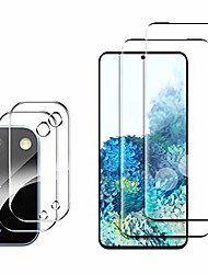 cheap -2 + 2 pack Samsung Galaxy S21 Plus Screen Protector + Camera Lens Protector Compatible Fingerprint Anti-scratch no-bubble HD Protective Film For Samsung Galaxy S20 plus S21 5G S21Ultra S20 Plus S20fe