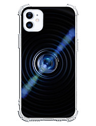 cheap -3D Cool Unique Cute Camera Design Case For iPhone 12 11 SE2020 Instagram Style Protective Case Clear Shockproof Back Cover TPU for iPhone 12 Pro Max XR XS Max iPhone 8 7 Plus