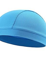 cheap -summer moisture wicking elastic skull cap helmet liner bandana beanie hat for outdoor cycling running sport motorcycle polyester, pink
