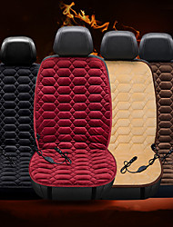 cheap -Heating Car Seat Cover 12V Heated Auto Front Seat Cushion Plush Heater Winter Warmer Control Temperature Electric Heating Pad