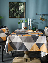 cheap -Table Cloth Waterproof Nordic Modern Minimalist Rectangular Coffee Table Cloth Table Cloth Desk Cloth Round Table Cloth