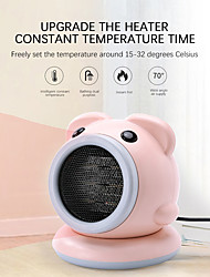 cheap -Warm air blower Heater Small Air Conditioning Portable Heater Mini Multi-Function Heater against overheating3 seconds heating