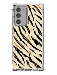 cheap -Leopard Print Case For Samsung Galaxy S21 Galaxy S21 Plus Galaxy S21 Ultra Unique Design Protective Case Shockproof Back Cover TPU