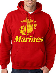 cheap -marines red hoodie (large)