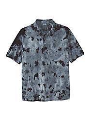 cheap -but& #39;s big & tall piqué polo shirt - tall - 6xl, royal blue marble