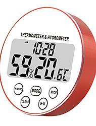 cheap -Round Temperature and Humidity Meter with Timer time CH-918 Indoor Digital Display Electronic New Product Temperature and Humidity Meter