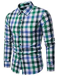 cheap -mens button down shirts 100% cotton long sleeve shirts regular fit (sl03a,m)
