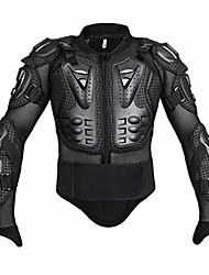 cheap -motorcycle full body armor jacket motocross racing chest motocross protective shirt (black, m)