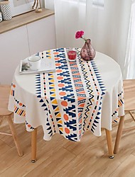 cheap -Table Cloth Bohemian Multicolor Printing Round Living Room Fabric Tablecloth