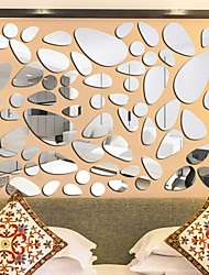 cheap -Shapes Wall Stickers Bedroom, Removable Acrylic Home Decoration Wall Decal