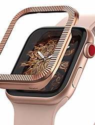 cheap -bezel styling full stainless steel frame case designed for apple watch 38mm, iwatch 3 / iwatch 2 / iwatch 1 - aw3-43