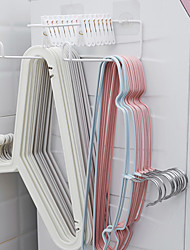 cheap -Free Punch Hanger Storage Artifact Wall-mounted Iron Racks Hook Balcony Clothes Support Clip Finishing Rack