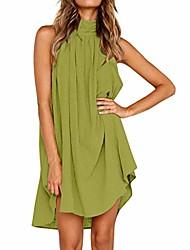 cheap -fairy essential casual party dress womens holiday irregular dress ladies summer beach sleeveless print party dress elegant petticoat