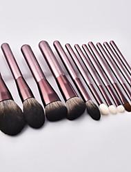 cheap -12 Pcs new makeup brush set small grapes makeup brush set beginner makeup utensils eye shadow set brush beauty tool