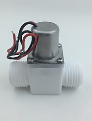cheap -Pilot Pulse solenoid valve electromagnetic valve DC3.6-6.5V 0.02-1.0MPa DN15 for Induction sanitary ware bathroom Urinals