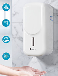 cheap -Touchless Automatic Sprayer Soap Dispenser Machine High Volume 1000ML Automatic Induction Machine Touchless Wall-Mounted Dispenser Black or White Random Delivery