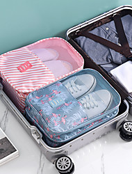 cheap -1pc Waterproof Shoe Socks Bag Convenient Travel Storage Nylon Portable Suitcase Organizer Bags Sorting Multifunction