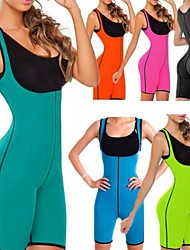 cheap -Body Shaper Sweat Waist Trainer Corset Sauna Suit 1 pcs Sports Neoprene Gym Workout Exercise & Fitness Running Stretchy Slimming Weight Loss Tummy Fat Burner For Women Waist & Back Leg Abdomen