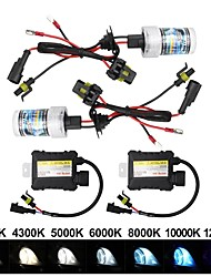 cheap -OTOLAMPARA 1 Kit DC 12V 55W 4800LM HID Xenon Kit H7 H1 H3 4300K 6000K 8000K 10000K 600% OEM Car Lightness IP68 Waterproof Car HID Conversion Kit H8 H9 H11 9005 9006