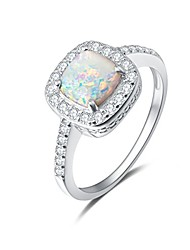 cheap -14k white gold plated 925 sterling silver created opal and cubic zirconia halo engagement ring for women girls (8)