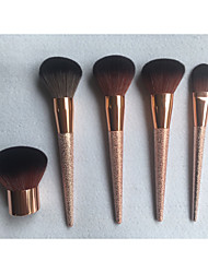 cheap -professional makeup brushes 5 pieces full coverage aluminium alloy 7005 for makeup brush