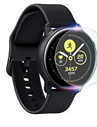 cheap -Screen Protector for Samsung Galaxy Watch Active 2 40mm Tempered Glass High Definition (HD) 3 pcs