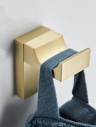 cheap -Golden Robe Hook Creative, Brass Wall Mounted for Bathroom Kitchen Hotel Bath