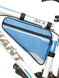 cheap -4 Colors Waterproof Triangle Cycling Bicycle Bags Front Tube Frame Bag Mountain Bike Triangle Pouch Frame Holder Saddle Bag New
