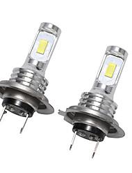 cheap -1pcs H7 80W Canbus LED Car Headlight Bulbs Auto Lights Automobile Driving Fog Lamp  3570 CSP Fog Light