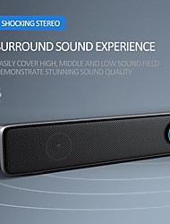 cheap -TV Soundbar Speaker Wired USB Multimedia Audio HIFI Stereo Sound Bar Waterproof for PC Theater TV Speaker Computer PC Laptop Phone