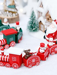 cheap -2pcs Christmas Decorations Christmas Ornaments Holiday Decorations Party Garden Wedding Decoration 20*4.5*2.5 cm