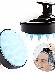 cheap -siliscrub-the original silicone shampoo brush hair scalp massager shampoo brush (red)