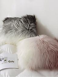cheap -Gradient Color Wool Pillow Case European Sofa Bay Window Cushion