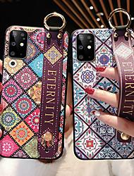 cheap -Wrist Strap Phone Case For Samsung Galaxy Note 20 Ultra Note 10 Plus Note 10 Lite S20 FE S20 S20 Plus S20 Ultra S10 S10 Plus S10 Lite S9 S9 Plus A10 A20 A30 A50 A70 A21S A20S A31 A51 A71 A81 A91 M51