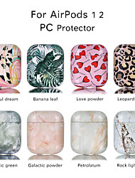 cheap -Case For AirPods Shockproof / Cool / Color Gradient Headphone Case Hard