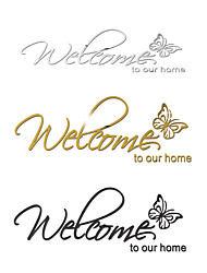 cheap -Characters Wall Stickers Bedroom, Removable Acrylic Home Decoration Wall Decal