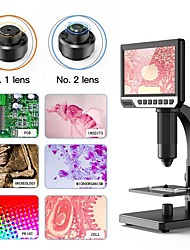 cheap -2000x 7 Inch Large Screen Microscope Mite Cell Biological Microscope Pbc Repair Welding Microscope