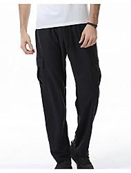 cheap -men's heavyweight fleece cargo sweatpants, grey, 4x-large