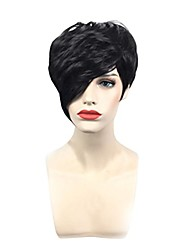 cheap -fashion europe and the united states style wigs gorgeous short hair bobo hair blonde straight curly hair (b)