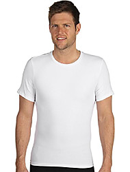 cheap -for men cotton compression crew white sm (34-36)