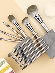 cheap -Bangfei new 12 makeup brush set loose powder brush eye shadow brush factory direct full set of bucket brush wholesale in stock