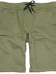 cheap -hollister men's advanced stretch twill jogger shorts 9 in. hom-9 (large, 1006-377)